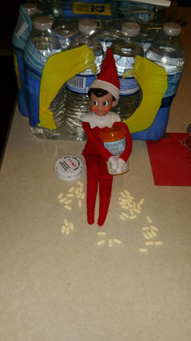 Elf on the shelf, Naughty Elf, Christmas