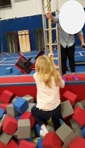 kid's birthday, gymnastics, mommy son time