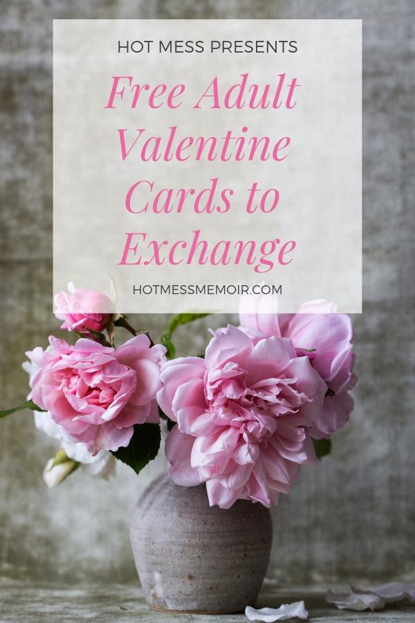 Free Adult Valentine Cards to Exchange (1)