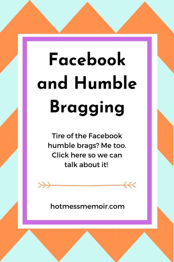 humble bragging