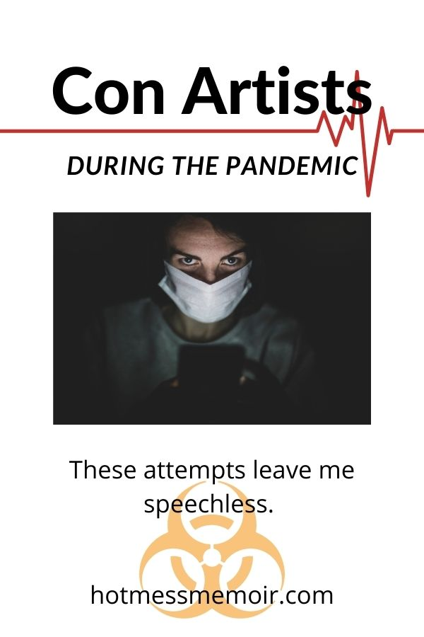 con artists during the pandemic